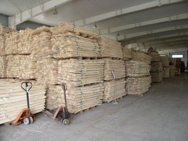 Production laminated bamboo
