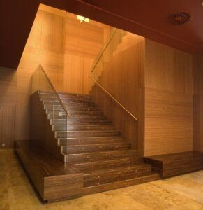 Bamboo Panel and veneer Diagonal Zero Hotel 4* Barcelona