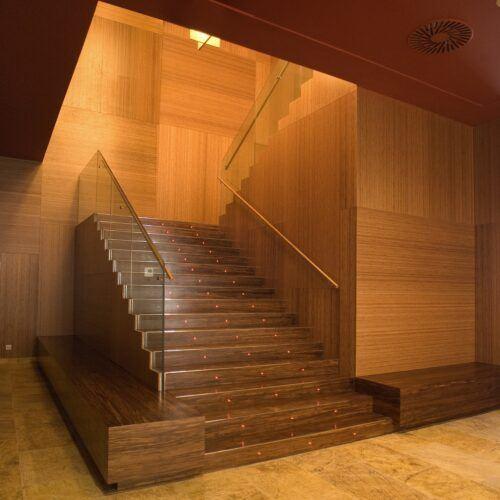 Bamboo Panel and veneer Diagonal Zero Hotel 4* Barcelona