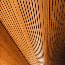 Paneles y chapa de bambu en Hotel Diagonal Zero 4* Barcelona