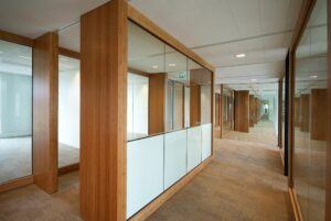 Bamboo beams in Van Oord Head Office