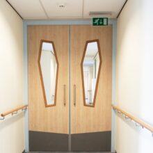 Bambus Türen von REINÆRDT in Isala clinic