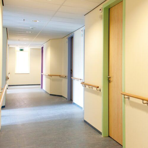 MOSO Bamboo doors by REINÆRDT used in the Isala Clinic
