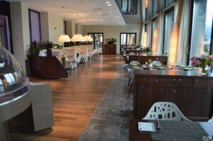 Pavimenti in bamboo in Campus Hotel Hertenstein