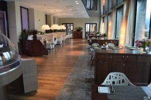 Le sol MOSO Bamboo Forest est installé dans l'Hôtel Campus Hertenstein