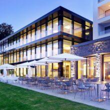 Bamboo Flooring Forest Campus Hotel Hertenstein