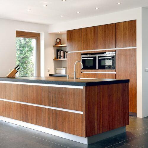 Paneles de bambu en las Cocinas Kitchzen
