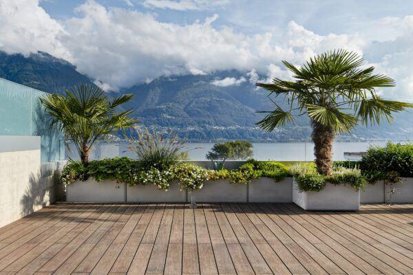 Lame de terrasse Bamboo X-treme dans la résidence privée Lotus