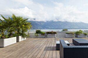 Bamboo terrace X-treme Residenza Lotus