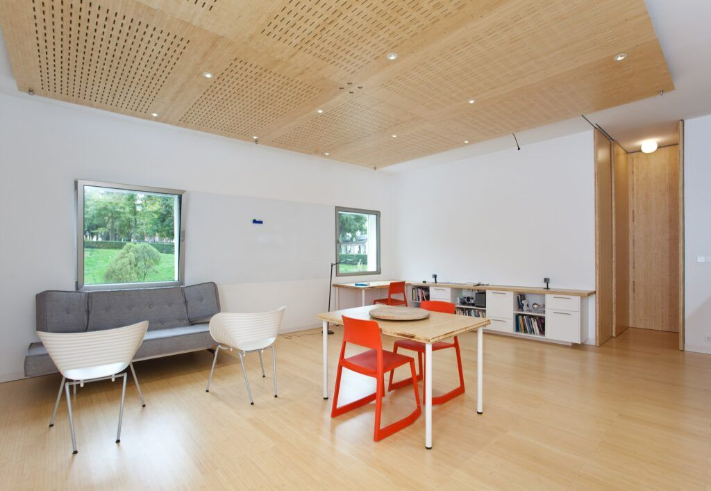 MOSO®竹地板应用在的马德里公寓
