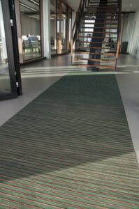 Bamboo Forbo Nuway Tuftiguard Entrance Flooring