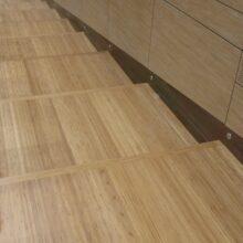 Pavimenti in bambù in Auditorium Treviglio