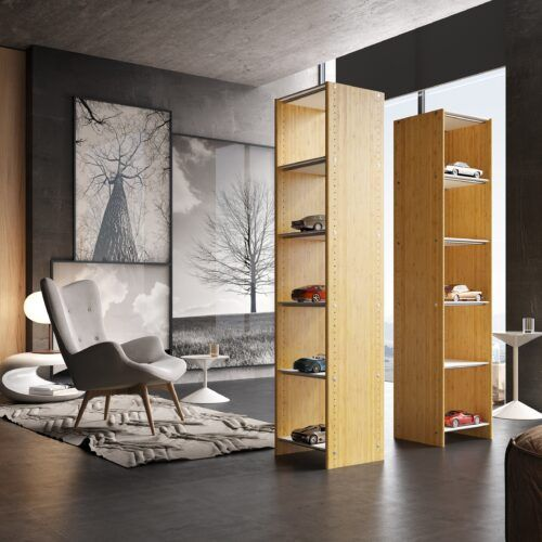 MOSO Bamboo Panels used to make furniture by Qin International