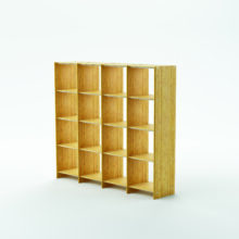 MOSO Bamboo used for Qin Rack