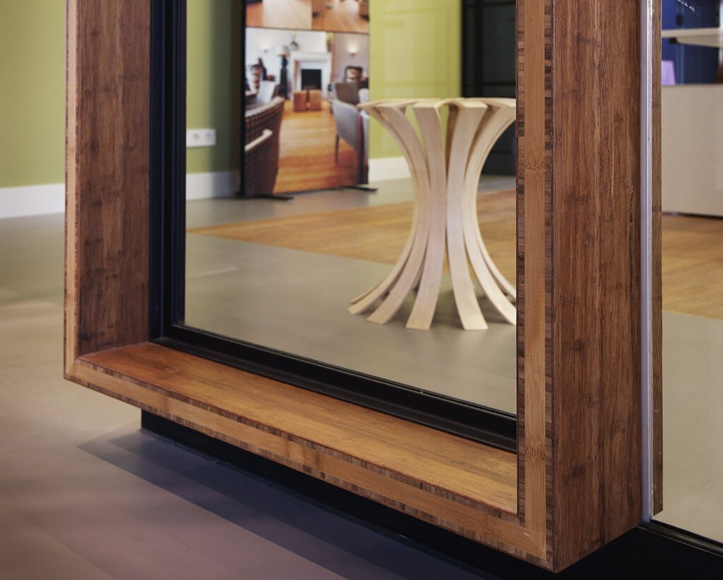 Bamboo Frame in MOSO Office