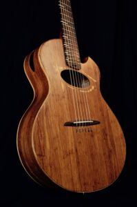 MOSO Bamboo products used in Alquier Guitar