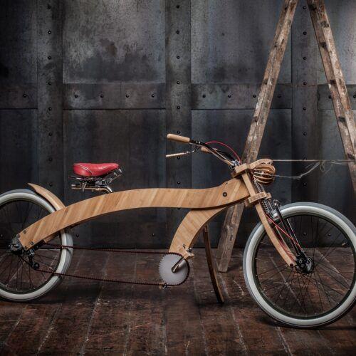 Wood you bike bamboe fiets