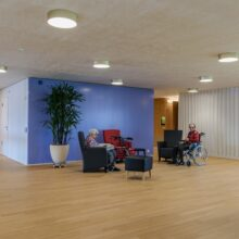 Bamboo flooring in Emmenfeld Retirement Home Emmen