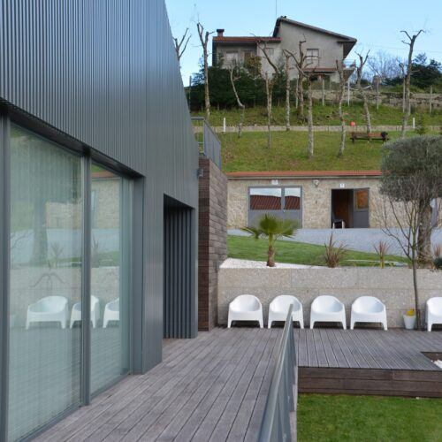 MOSO Bamboo Decking and cladding of Quinta do Farejal Restaurant & Events in Portugal