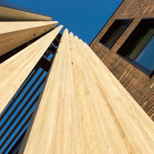 MOSO Bamboo N-finity used at head office in Zwaag