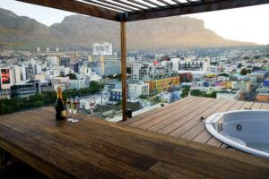 MOSO Bamboo X-treme terrace in Cape Town