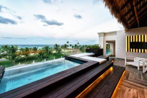 MOSO Bamboo terrace in Hard Rock Hotel Punta Cana