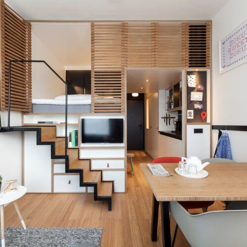 MOSO Bamboo products used in Zoku hotel Amsterdam