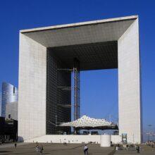 Terrazza in bamboo presso Grande Arche de la Défense