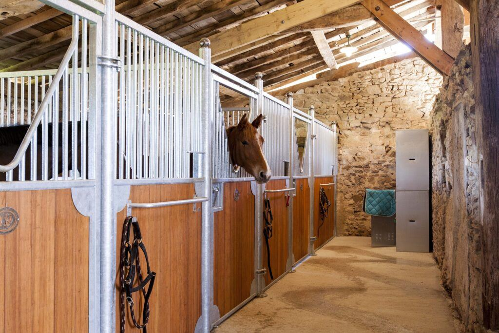 Bamboo E-quine stable planks