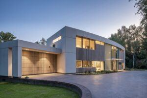 Bamboo n-finity outdoor cladding in Villa in Eindhoven