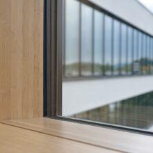 Bamboo N-finity indoor beams in Klöckner Pentaplast B.V.