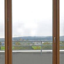 Vigas de interior em Bamboo N-finity no Klöckner Pentaplast B.V