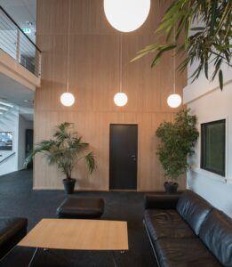 Rivestimento in bamboo presso ufficio - Oslo