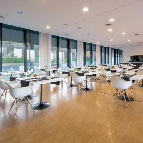 MOSO Bamboo flooring in Open Village Sports Hotel & Spa Club