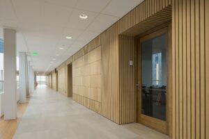 Pavimenti, rivestimenti, scale e decking in bamboo presso STC Campus Waalhaven
