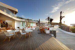 Terrazza in bamboo MOSO® X-treme presso Hard Rock Hotel Tenerife