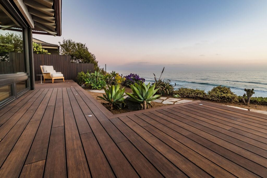 Bamboo decking Solana beach