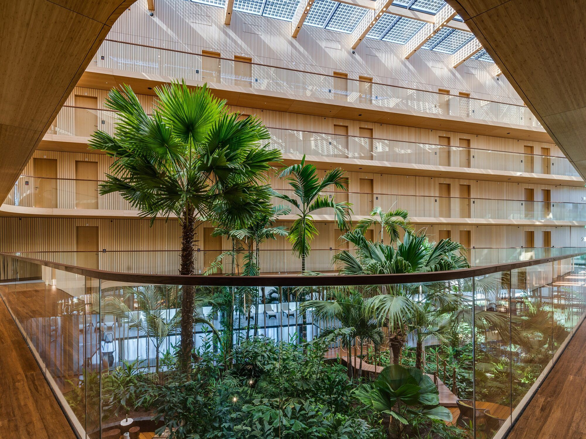 MOSO Bamboo products used in Hotel Jakarta Amsterdam