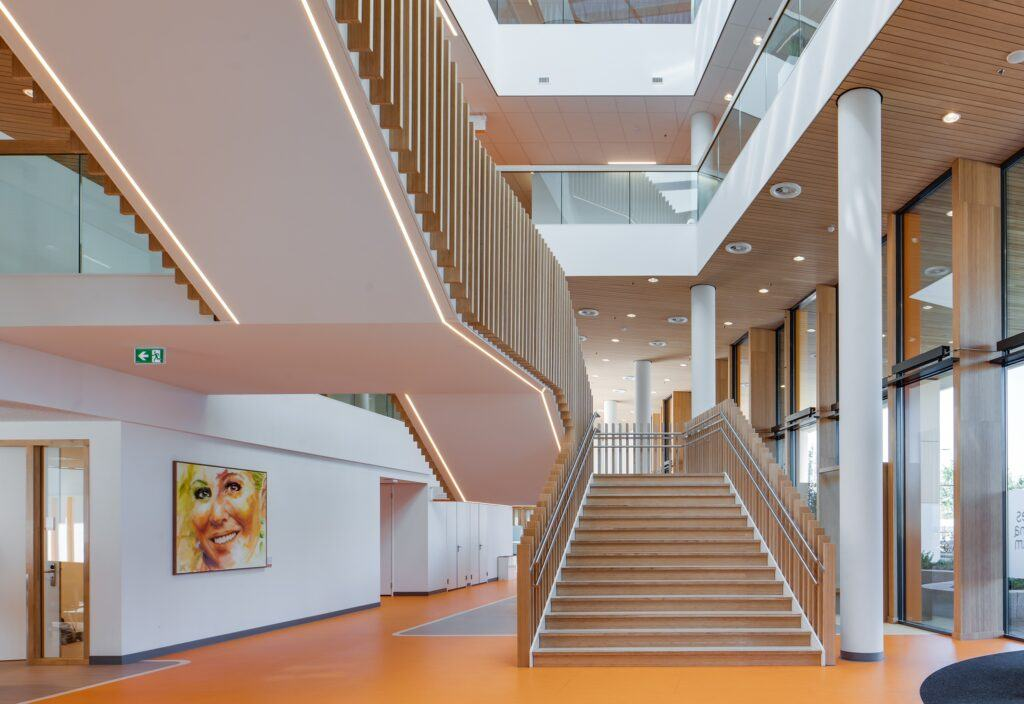MOSO Bamboo used in Prinses Maxima Centre in Utrecht