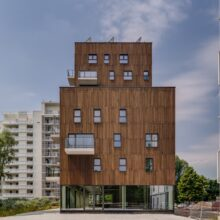 MOSO Bamboo X-treme cladding in Kortrijk
