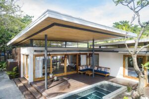 MOSO Bamboo X-treme used in Villa in Costa Rica