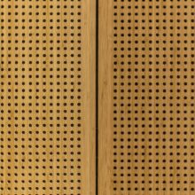 Bamboo acoustic panels in Docks Office