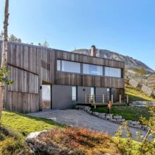 MOSO Bamboo panels used in Chalet at Gaustatoppen
