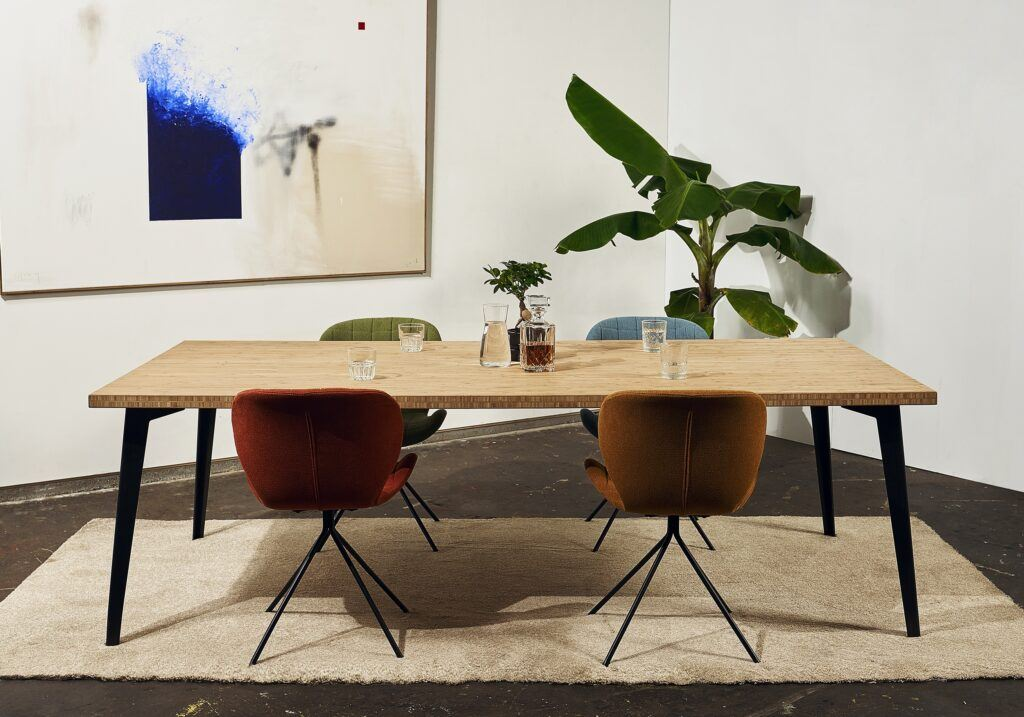 MOSO Bamboo used to make furniture by Robuust Amsterdam