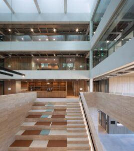 MOSO Bamboo products used in Matrix VII Office, Amsterdam
