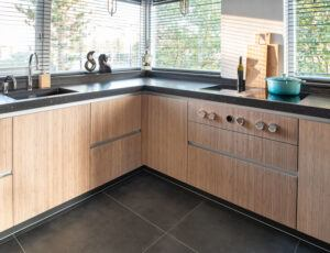 Bamboo kitchen by Van Slageren
