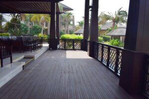 MOSO Bamboo X-treme Decking used in Sofitel The Palm Dubai