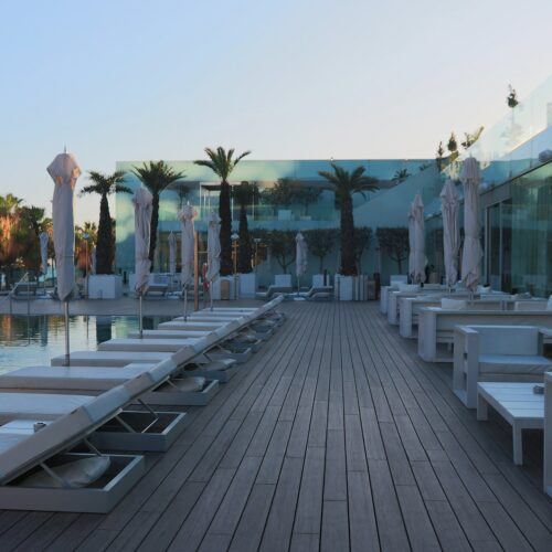 MOSO Bamboo X-treme Decking used at Hotel W in Barcelona Spain