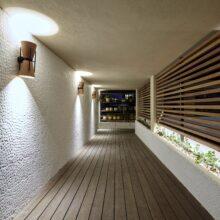 MOSO Bamboo X-treme Terraza de bambú MOSO® en Hotel Barcelona 1882