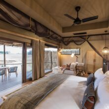 MOSO Bamboo X-treme Decking and UltraDensity Flooring used in Lodge Puku Ridge